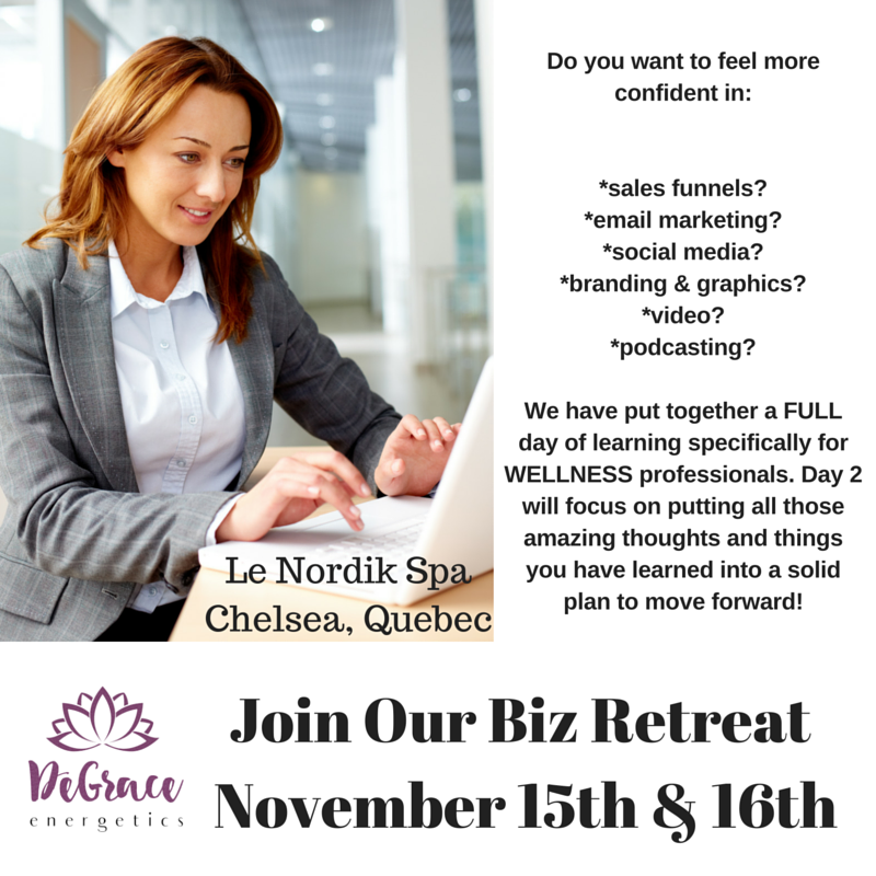Join Our Biz Retreat November 15th & 16th