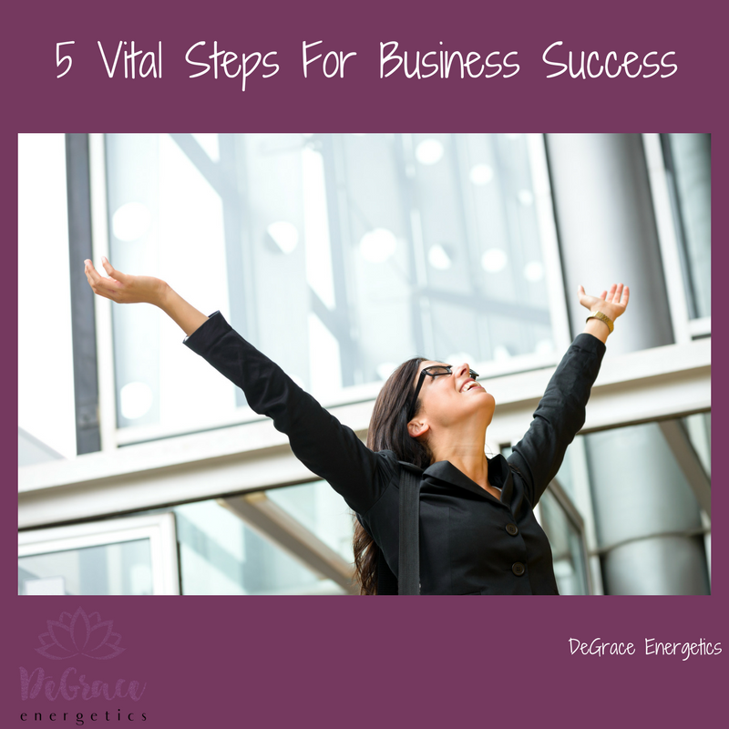 5 Vital Steps to Business Success
